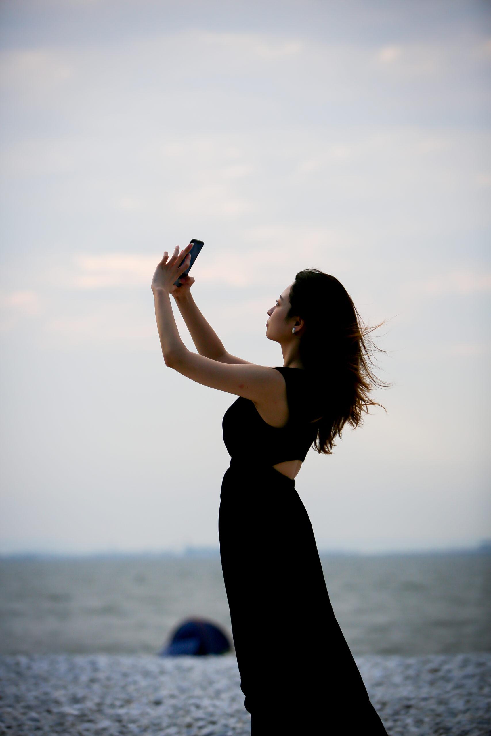 マーブルビーチでの風景写真